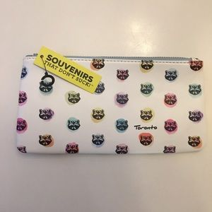 Main and Local Raccoon Pencil Case/Card Holder